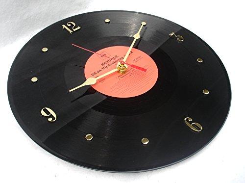 "Recycled BEYONCE Vinyl Record Clock – ""Deja VU – Featuring JAY-Z"" (2006)"