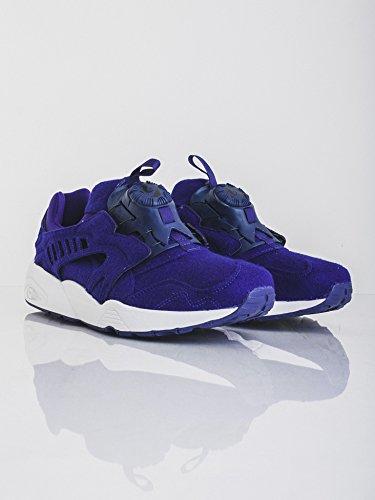 Puma - Zapatillas para hombre Morado Purple White