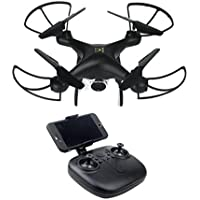 Vanvler RC Drone, Wide Angle Lens 720P HD Camera Quadcopter WiFi FPV Drone with 1600Mah Battery