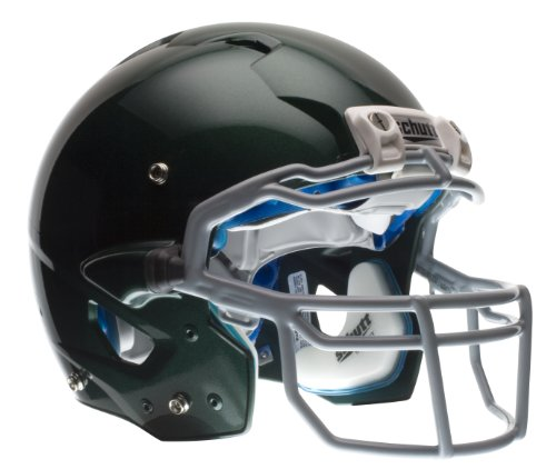 Schutt Youth ION 4D Football Helmet without Faceguard (Dark Green, Small)