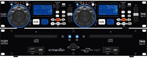 IMG Stage LineCD-230USB DJ-Dual-CD und MP3-Spieler