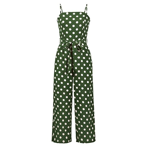 2807c9fbfe92 vermers Women Strappy Jumpsuits and Rompers Fashion Sleeveless Summer Beach  Party Playsuits