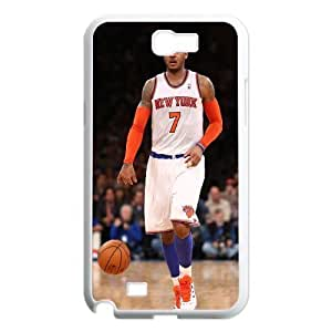 Custom High Quality WUCHAOGUI Phone case Carmelo anthony - New York Nicks Protective Case For Samsung Galaxy Note 2 Case - Case-18