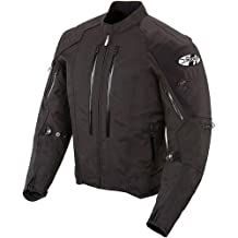 Joe Rocket Atomic 4.0 Men's Riding Jacket (Black, Large)