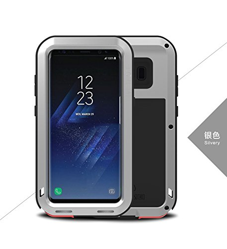 c0289ed4ae2 Galaxy S8 Case,Love Mei, Shockproof Dust / Dust / Snowproof Aluminum  Gorilla Glass