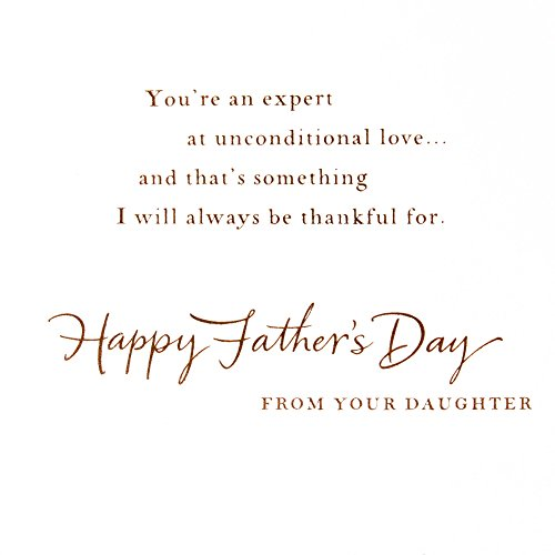 Hallmark Father's Day Greeting Card from Daughter (Unconditional Love) Photo #4