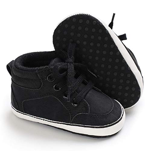Meckior Save Beautiful Toddler Baby Girls Boys Shoes Infant First Walkers Sneakers (6-12 Months, - Crib Shoes Classic