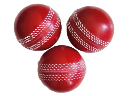 6 Pro Impact Poly Soft PVC Cricket Balls