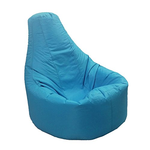aming Beanbag Chair Cover Adult Seat Pod Bag Cover Waterproof - 9 Colors Pick - Sky Blue ()