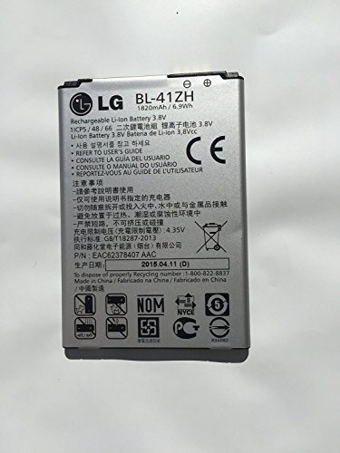 Lg Cellular Phone Replacement Battery - New Original 1820mah 3.8v 6.9wh Lg Bl-41zh Lg Leon 4g LTE Battery H340 H340n