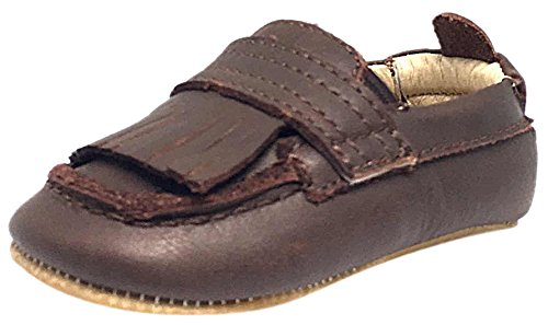 Old Soles Boys' Bambini Domain-K, Distressed Brown, 3 M US Infant/19 M EU ()