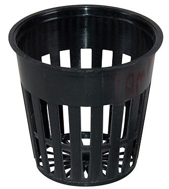 9GreenBox - 2 Inch Round Orchid/Hydroponics Slotted Mesh Net Pot - 50 Pack