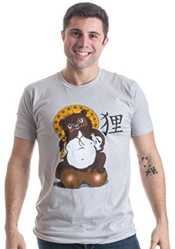 Tanuki Bake-danuki Japanese Raccoon Dog w/ Lucky Ballsack | Japan Unisex T-shirt