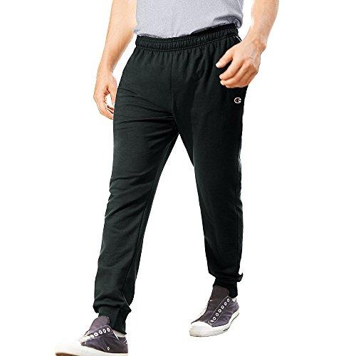 Champion Menâ€s French Terry Jogger Pants_Black_L