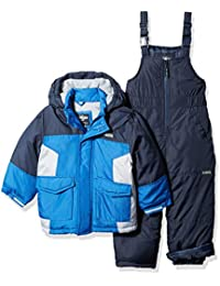 Osh Kosh Boys' Ski Jacket and Snowbib Snowsuit Set