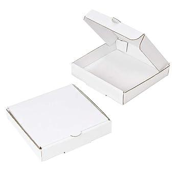 Amazon.com: Cajas de pizza blancas de 5.0 in (8 unidades ...
