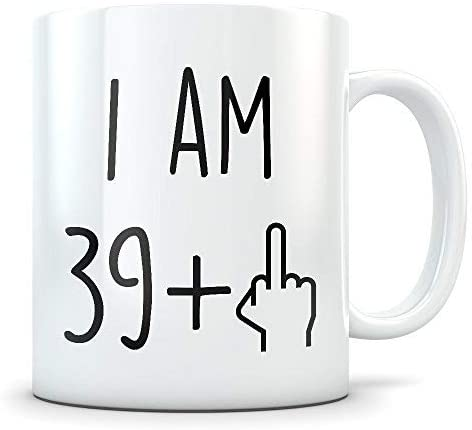 Idée Cadeau 40 Ans Homme Funny 40th Birthday Gift for Women and Men Turning 40 Years Old