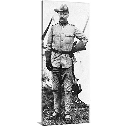 Gallery-Wrapped Canvas Entitled Theodore Roosevelt as Commander Roosevelt's Roughriders Great Big Canvas 21