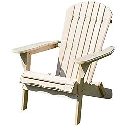 Merry Garden Foldable Adirondack Chair