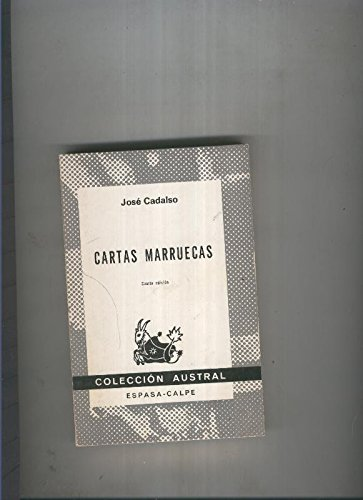 Austral 1078: Cartas Marruecas: Amazon.es: Jose Cadalso: Libros