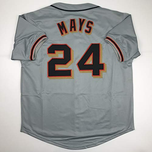 Unsigned Willie Mays San Francisco Grey Custom Stitched Baseball Jersey Size Men's XL New No Brands/Logos