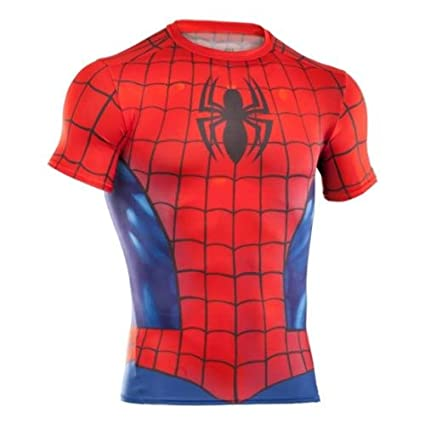 247877a186517 Under Armour – Camiseta de manga corta Under Armour Alter Ego – Spiderman