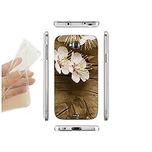 caselabdesigns carcasa funda blanda Planta en madera para LG G Pro Lite D682TPU–Concha de silicona protectora antigolpes
