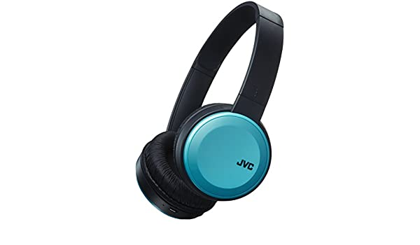 Amazon.com: JVC HAS30BTAE Deep Bass Bluetooth On Ear Headphones - Blue: Home Audio & Theater