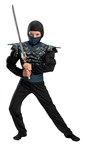 Kids- (Childrens Camouflage Ninja Costumes)
