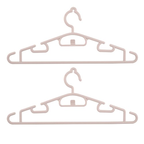 uxcell Plastic Household Laundry Coat Clothes Drying Rack Ha