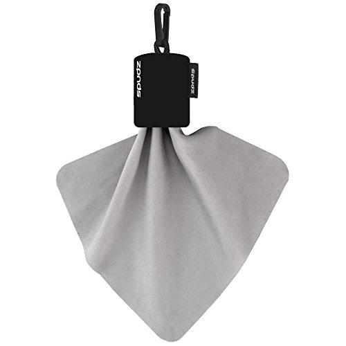 Alpine Innovations Spudz Microfiber Cloth in Black Pouch, 10X10