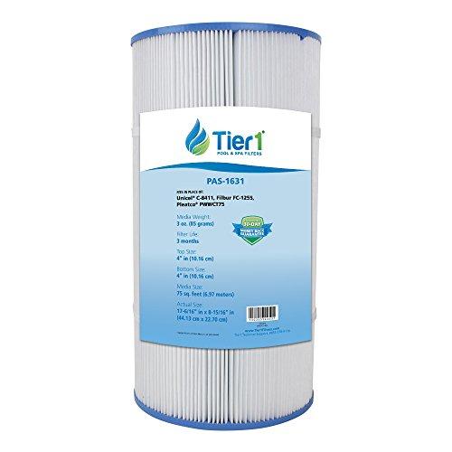 Tier1 Replacement for Waterway 817-0075N, Clearwater II 75, Pleatco PWWCT75, Filbur FC-1255, Unicel C-8411 Filter Cartridge