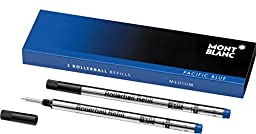 MONTBLANC Rollerball Refills, Pacific Blue (U0105159)