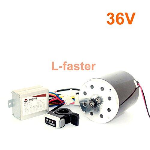 36v48v 500ワット電動高速モーターキット電動スクーターunitemotor変換キットe300s mx350交換モーターアップグレードセット [並行輸入品] B078KTW6PD 36V thumb kit 36V thumb kit