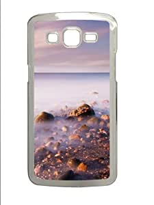 Misty Sea Polycarbonate Hard Case Cover for Samsung Grand 2/7106 Transparent