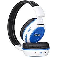 Blue House 709B Wireless MP3 Headphones with 4GB Memory Card FM Radio