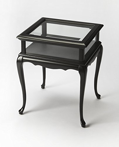 (BUTLER 1484111 BURTON BLACK LICORICE CURIO TABLE)