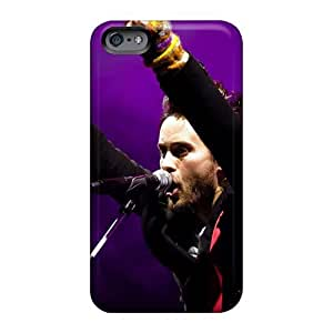 Iphone 6plus HQf15199SsNQ Allow Personal Design Trendy 30 Seconds To Mars Band 3STM Series Shock Absorption Cell-phone Hard Cover -AaronBlanchette