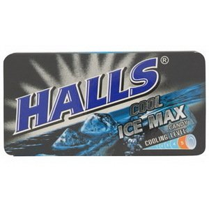 Halls Ice Maxx Candy 22.4g Amazing of Thailand