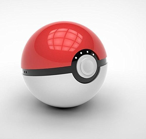 Pokeball 12000 mAh Powerbank (Red/White) - 2