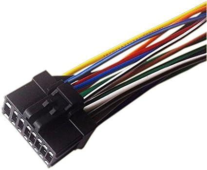 pioneer p1400dvd wiring harness amazon com pioneer avh p4400bh player wiring harness plug  pioneer avh p4400bh player wiring