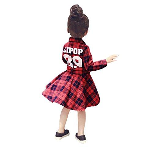 Fimkaul Dress Toddler Baby Girls Letter Printing Fashion