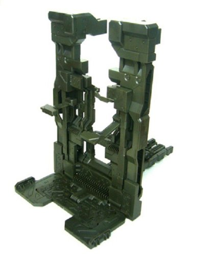 1/100 1/144 model stand garage (dark Grün color molding Purakitto) (japan import)