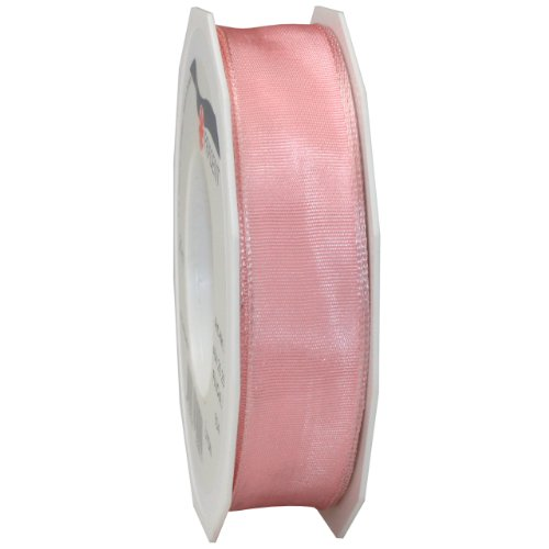 Morex Ribbon French Wired Lyon Ribbon, 1-Inch by 27-Yard Spool, Plum