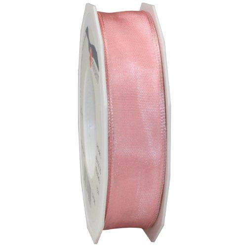 Morex Ribbon French Wired Lyon Ribbon, 1-Inch by 27-Yard Spool, Plum
