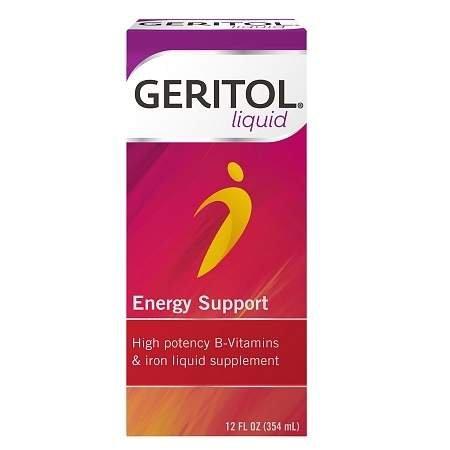 Geritol Liquid High Potency Vitamin & Iron Supplement, with Ferrex Tonic - 3PC