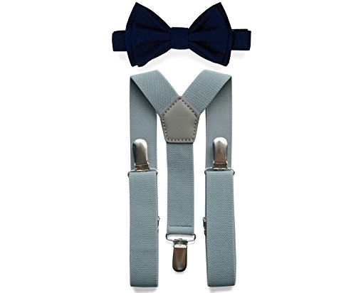 Suspenders Bow Tie Set (Adult (up to 5'8