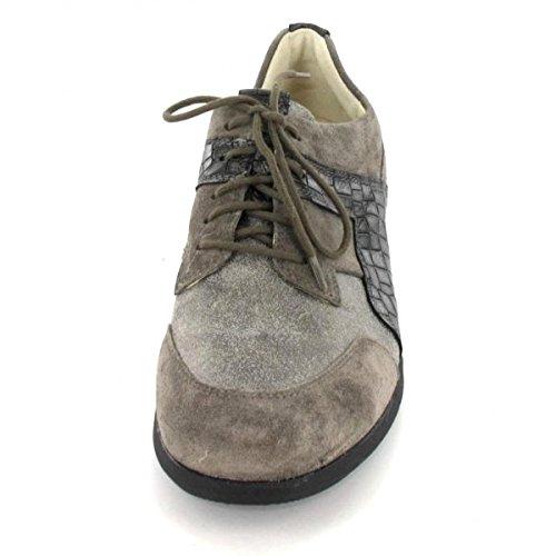 Waldläufer Schnürer Halli, Farbe: grau