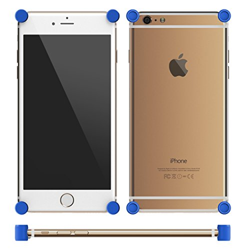 MOTA MT-BPi6-B Etui pour iPhone 6/6S/6 Plus/6S Plus Bleu