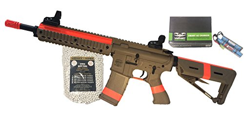 Valken Battle Machine Mod M Tan Airsoft Alpha Viper Package (NY/CA Compliant) by AirsoftAlpha